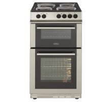 Belling FS5OEFDOSIL Double Oven Electric Cooker