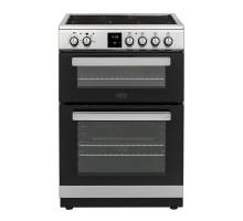 Belling FSE608DPCSS Twin Cavity Electric Cooker