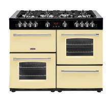 Belling Farmhouse 110G Range Cooker Cream
