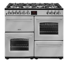 Belling Farmhouse FH100DFTSIL Dual Fuel Range Cooker