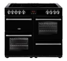 Belling Farmhouse FH100EBK Electric Ceramic Range Cooker