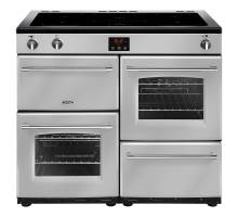 Belling Farmhouse FH100EiSIL Electric Induction Range Cooker