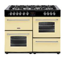 Belling Farmhouse FH110DFTCR Dual Fuel Range Cooker