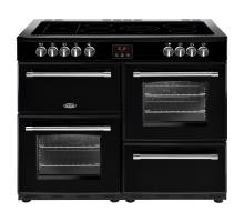 Belling Farmhouse FH110EBK Electric Ceramic Range Cooker
