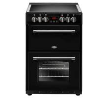 Belling Farmhouse FH60EBK Electric Ceramic Range Cooker