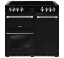 Belling Farmhouse FH90EBK Electric Ceramic Range Cooker