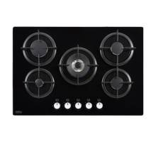 Belling GTC75C 75cm Black Gas Hob