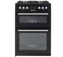 Blomber GGN60Z 60cm LPG Gas Twin Cavity Cooker - Black