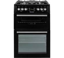 Blomber GGN61Z 60cm Gas Twin Cavity Cooker - Black