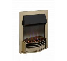 Dimplex Dumfries Antique Brass Optiflame 3D Electric Inset Fire