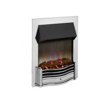 Dimplex Dumfries Chrome Optiflame 3D Electric Inset Fire