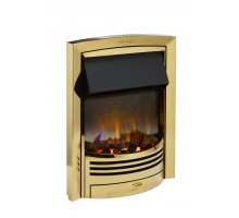 Dimplex Glencoe Brass Optiflame 3D Electric Inset Fire