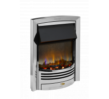 Dimplex Glencoe Chrome Optiflame 3D Electric Inset Fire