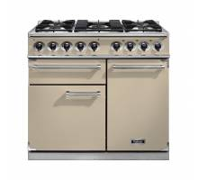 Falcon F1000DXDFCRCM - 1000 Deluxe Dual Fuel Cream Chrome Range Cooker 98610