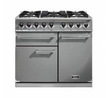 Falcon F1000DXDFSSCM - 1000 Deluxe Dual Fuel Stainless Steel Chrome Range Cooker 98590