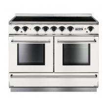 Falcon FCON1092EIWHNEU 1092 Continental Electric Induction White Nickel Range Cooker 83660