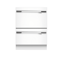 Fisher & Paykel DD60DHI7 Double Intergrated Tub DishDrawer - White