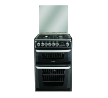 Hotpoint Cannon CH60DHKFS Dual Fuel Double Oven