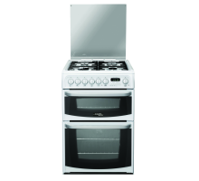Hotpoint Cannon CH60DHWFS Dual Fuel Double Oven