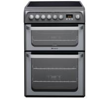 Hotpoint HUE61G Electric Cooker