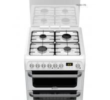 Hotpoint Ultima HUD61PS Dual Fuel Cooker