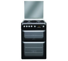 Hotpoint Ultima HUG61K Gas Cooker