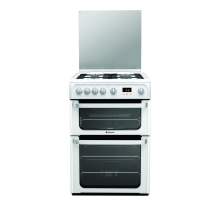 Hotpoint Ultima HUG61P Gas Cooker