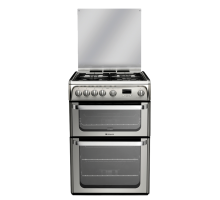 Hotpoint Ultima HUG61X Gas Cooker