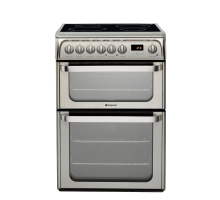 Hotpoint Ultima HUI611X Electric Cooker