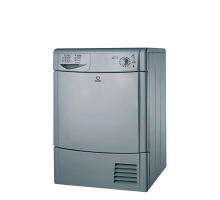 Indesit Ecotime IDC 85 S Tumble Dryer - Silver