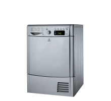 Indesit Ecotime IDCE 8450 BS H Tumble Dryer - Silver