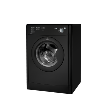 Indesit Ecotime IDV 75 B K Tumble Dryer - Black