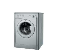 Indesit Ecotime IDV 75 S Tumble Dryer - Silver