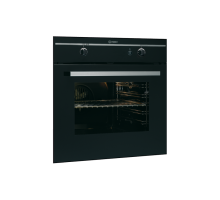 Indesit FGIMKBKS Single Gas Oven - Black