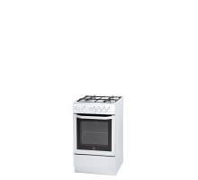 Indesit I5GGW Single Gas Cooker