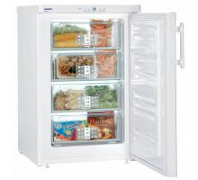 Liebherr Premium GP 1376 White SmartFrost Freestanding Under Counter Freezer