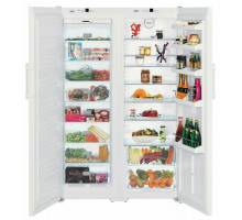 Liebherr Premium SBS 7253 White Side-by-Side BioFresh Food Centres