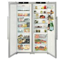 Liebherr Premium SBSes 7263 Smart Steel Side-by-Side BioFresh Food Centres