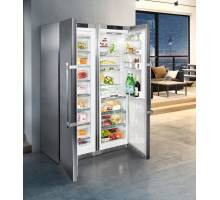 Liebherr Premium SBSes8663 Smart Steel Side-by-Side Food Centres