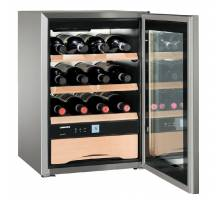 Liebherr WKes 653 GrandCru Table Top Wine Cabinet - Stainless Steel