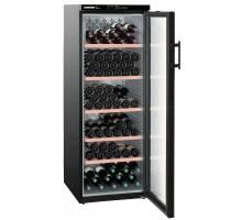 Liebherr WTb 4212 Vinothek Multi-Temp Wine Cabinet - Black