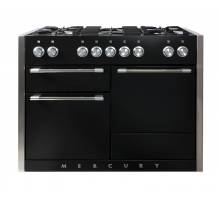 Mercury MCY1200DFAB - 1200 Dual Fuel Ash Black Range Cooker 92950