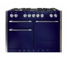 Mercury MCY1200DFBB - 1200 Dual Fuel Blueberry Range Cooker 93010