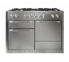 Mercury MCY1200DFSS - 1200 Dual Fuel Stainless Steel Range Cooker 91570