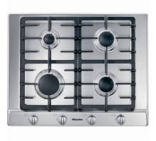 Miele KM2010 Gas Hob - Stainless Steel