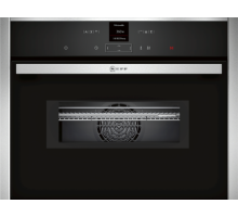 Neff C17MR02N0B Built-in Compact Oven with Microwave