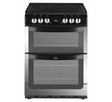 New World NW601EDO Double Oven Electric Cooker - Stainless Steel