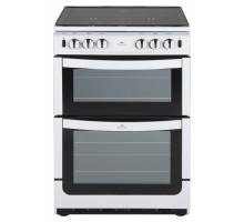 New World NW601GTCL Twin Cavity Gas Cooker White