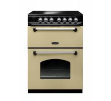 Rangemaster CLAS60ECCRC - 60cm Classic Electric Ceramic Cream Chrome Range Cooker 107340