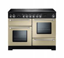 Rangemaster KCH110ECCRC - 110cm Kitchener Electric Ceramic Cream Chrome Range Cooker 78880